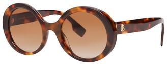 Burberry Oversized Tortoiseshell Sunglasses