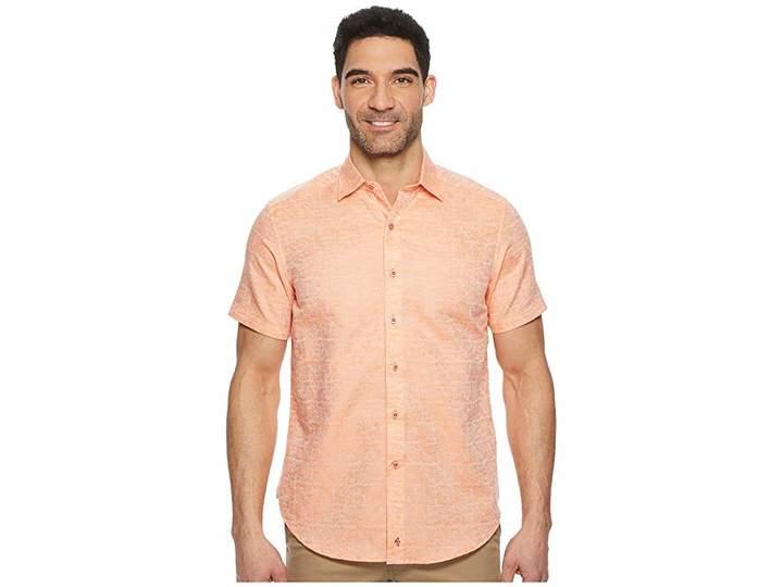 Robert Graham Cyprus Short Sleeve Woven Shirt Men's Clothing