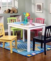 Nollen Five-Piece Table & Chair Set