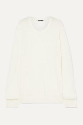 Jil Sander Wool Sweater - Off-white