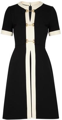 Gucci Monochrome Horsebit-embellished Dress