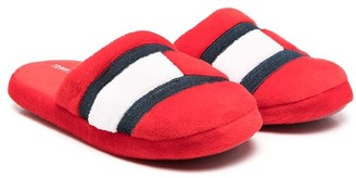 Tommy Hilfiger Junior Logo Vamp Slippers