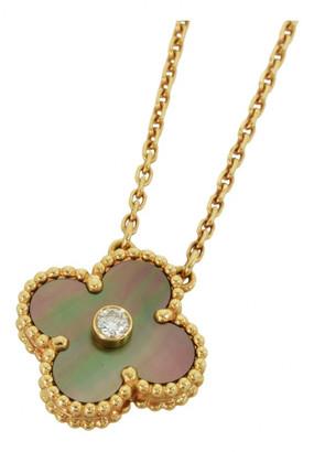 Van Cleef & Arpels Alhambra Gold Pink gold Necklaces