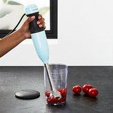 Crate & Barrel KitchenAid ® Ice Blue 2-Speed Hand Blender