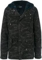 Yves Salomon camouflage jacket