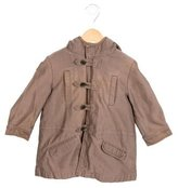 Bonpoint Boys' Hooded Long Sleeve Coat