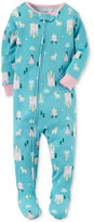 Carter's 1-Pc. Princess-Print Footed Pajamas, Baby Girls (0-24 months)