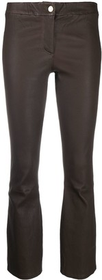 Arma Mid-Rise Cropped Trousers