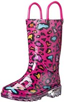 Western Chief Cutie Leopard Light-Up Rain Boot (Toddler/Little Kid/Big Kid)