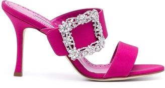 Manolo Blahnik Gable Jewel 90 sandals