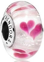 Pandora Wild Hearts Murano Charm - 791649