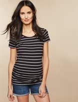Motherhood Maternity Secret Fit Belly Roll Hem Maternity Shorts