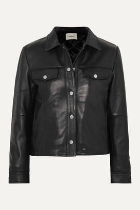 Deadwood - + Net Sustain Frankie Leather Jacket - Black