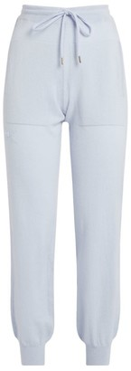 Barrie Cashmere Embroidered Sweatpants