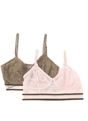 Danskin Lace Bralette - Set of 2