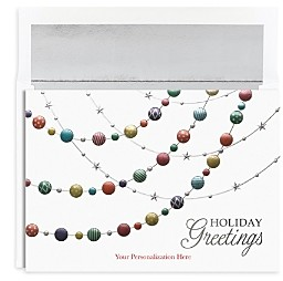 MASTERPIECE Ornament Holiday Cards, Set of 16