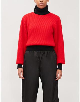 Fusalp Muzelle mohair-blend knitted jumper