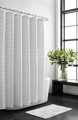 Vera Wang Stripe Shower Curtain