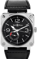 Bell & Ross M0a10058 Clifton 18ct rose gold watch