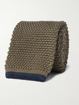 Brunello Cucinelli 6cm Knitted Silk Tie