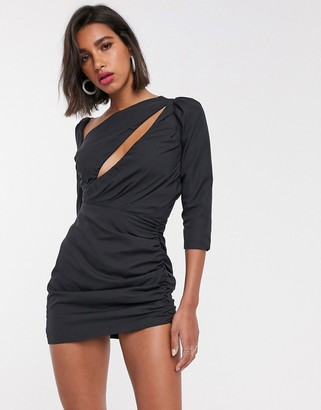 Atoir perfect place ruched bodycon mini dress