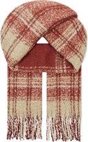 Free People Tartan scarf