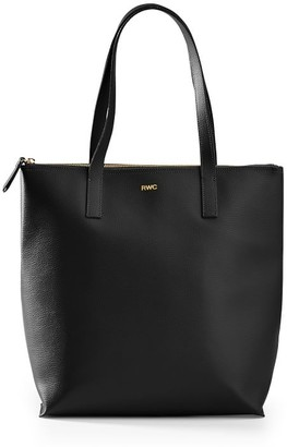 Mark And Graham Everyday Italian Leather Zipper Tote