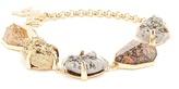 Christopher Kane Natural stone-embellished bracelet