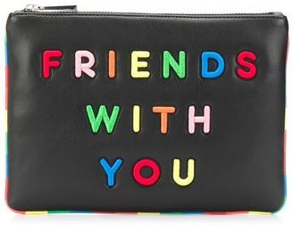 Alice + Olivia x Friends With You Vita clutch