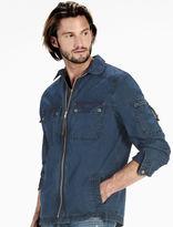 Lucky Brand Washed Indigo Shirt Jacket