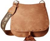 Steve Madden Bswiss Saddle Bag w/ Guitar Handbags