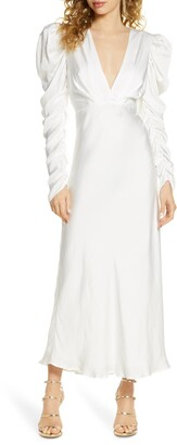 Bardot Zaria Long Sleeve Gown