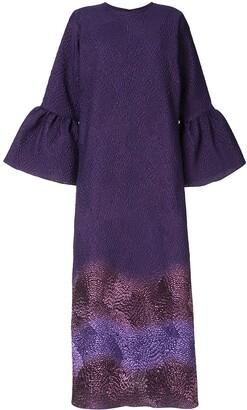 Bambah Camelia gradient print dress