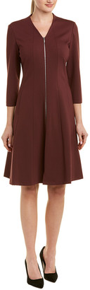 Lafayette 148 New York Rosalie A-Line Dress