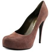 Ernesto Esposito Y005 Round Toe Leather Heels.