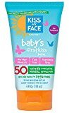 Kiss My Face Baby's First Kiss Sunscreen Lotion SPF 50 4 oz (Pack of 3)