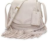 Polo Ralph Lauren Fringe Leather Crossbody Bag