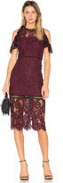 Alexis Evie Dress in Burgundy. - size XS (also in )