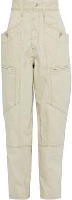 Etoile Isabel Marant Heko High-rise Tapered Jeans