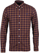 Fred Perry Navy & Mustard Three Colour Gingham Shirt