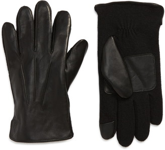Polo Ralph Lauren Leather Hybrid Touchscreen Gloves