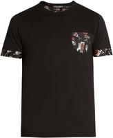 Dolce & Gabbana Instrument-print panel T-shirt