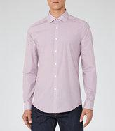 Reiss Continental Printed Cotton Shirt