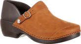 Women's 4EurSole Nubuck Leather Clog RKYH039