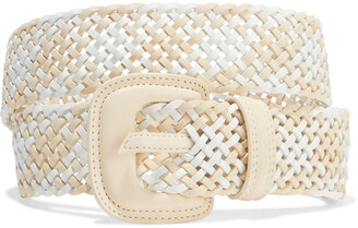 Zimmermann Chevron Woven Leather Belt