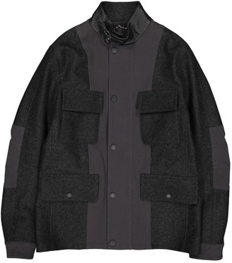 Louis Vuitton Anthracite Wool Jackets