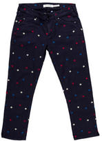 Etoile Isabel Marant Embroidered Cropped Jeans