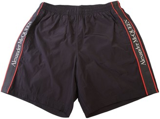 Alexander McQueen Side Strap Swim Shorts