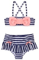 Hula Star Girl's 'Ships Ahoy' Two-Piece Swimsuit