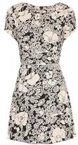 Saint Laurent Floral-printed Dress